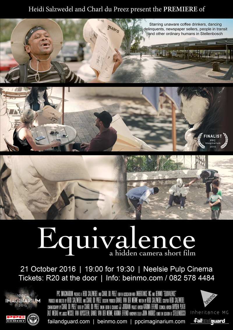 Equivalence short film premiere poster